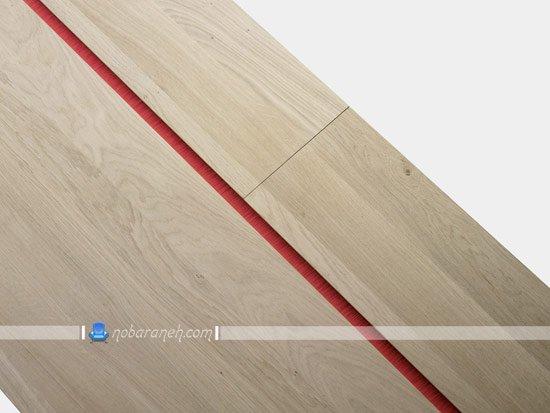 میز تحریر مدرن ساده و شیک چوبی
