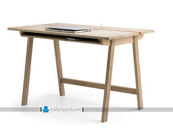 میز تحریر ساده چوبی