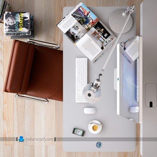 میز اداری و کارمندی با طراحی جدید