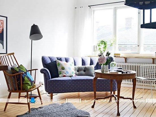 عکس و مدل طراحی دکوراسیون خانه دوبلکس کوچک / عکس