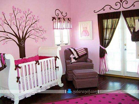 سیسمونی اتاق نوزاد دختر