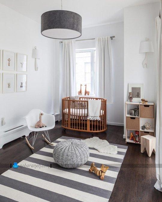 چیدمان اتاق نوزاد پسر / عکس
