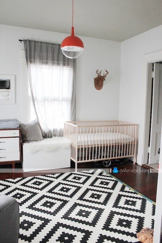 دکوراسیون اتاق نوزاد با طراحی شیک و زیبا