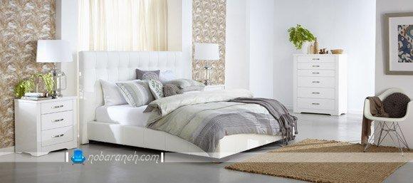 طراحی و تزیین اتاق خواب عروس با رنگ سفید