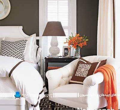 طراحی دکوراسیون اتاق خواب به شکل هتل های لوکس