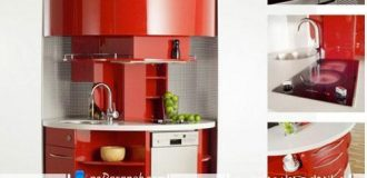 مدل جدید کابینت آشپزخانه کوچک
