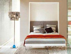 تخت خواب دیواری تاشو برای اتاق عروس