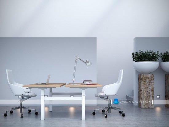 میز کارمندی و اداری مدرن / عکس