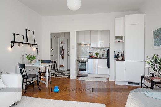 کابینت های مناسب آشپزخانه کوچک