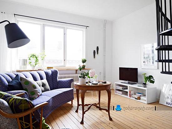 طراحی دکوراسیون خانه دوبلکس کوچک با هزینه کم / عکس