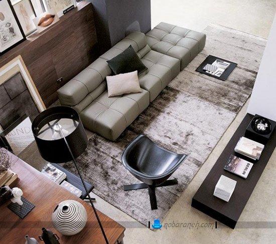 کاناپه و مبل راحتی ایتالیایی با طراحی ظریف و شیک