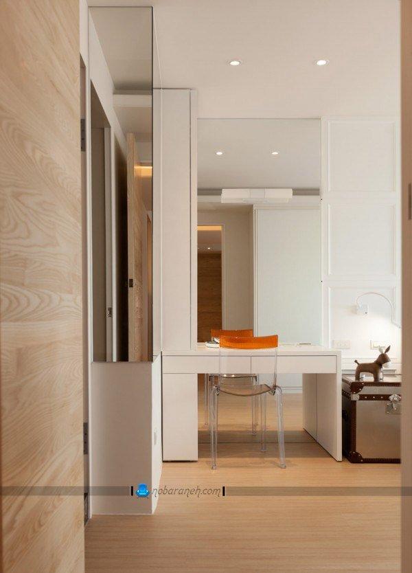عکس و مدل طراحی دکوراسیون چوبی در اتاق خواب / عکس