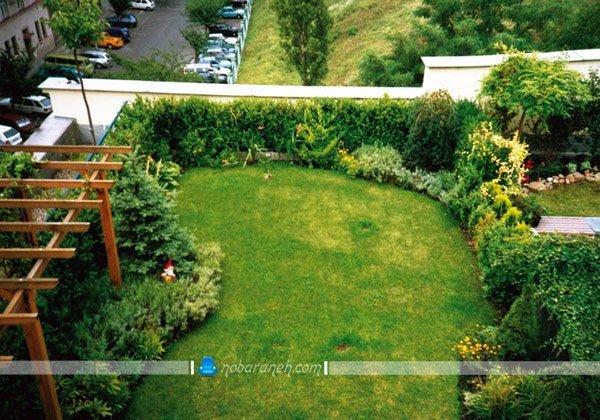 ساخت فضای سبز در پشت بام و بالکن، چمن کردن کف پشت بام خانه