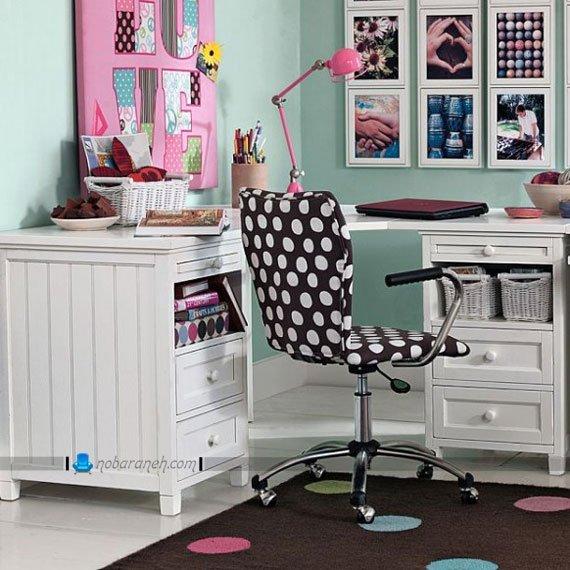 میز تحریر کودک برای اتاق خواب خانم های جوان