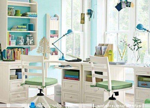 میز مطالعه برای اتاق کودک