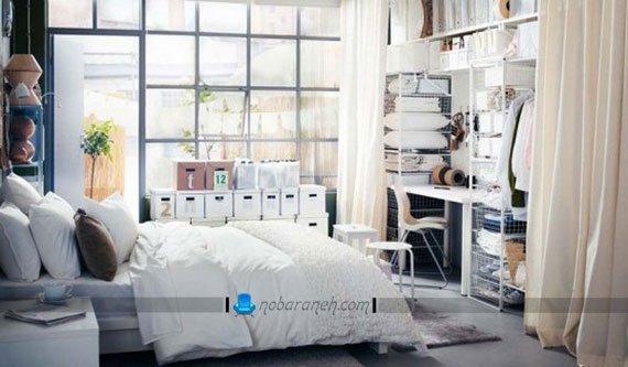 طراحی و تزیین دکوراسیون اتاق خواب عروس با ایکیا / عکس