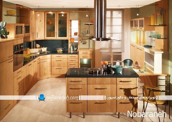 دکوراسیون آشپزخانه اپن را با ایده های نو چیدمان کنید، راهنما و آموزش طراحی دکوراسیون آشپزخانه اپن یا اوپن
