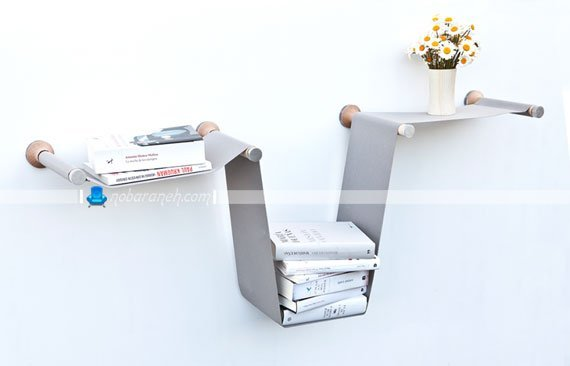 عکس و مدل شلف دیواری با طرح و مدل غلتکی و ریلی / عکس