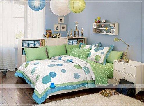 فضاسازی در اتاق خواب کودکان و نوجوانان به شکل دخترانه / عکس