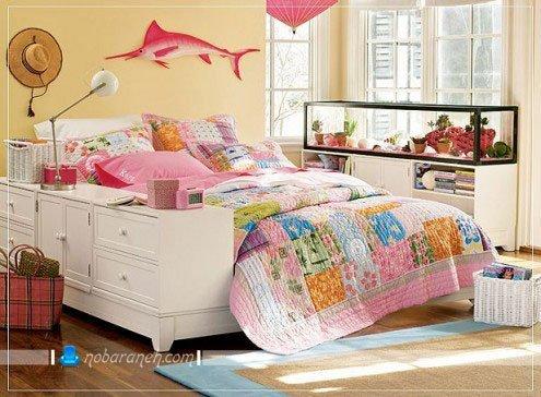 عکس ومدل دکوراسیون دخترانه در اتاق خواب نوجوانان و کودکان / عکس