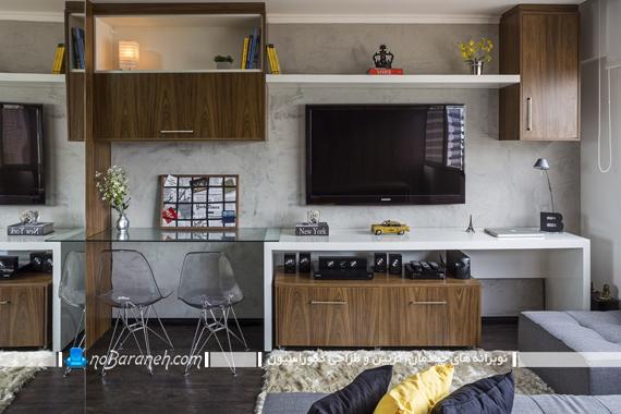 طراحی دکوراسیون داخلی خانه کوچک 30 متری