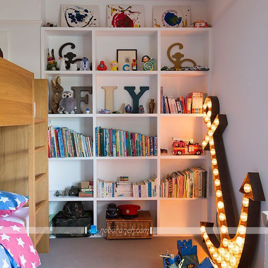 تزیین اتاق بچه پسر به شکل شیک و مدرن