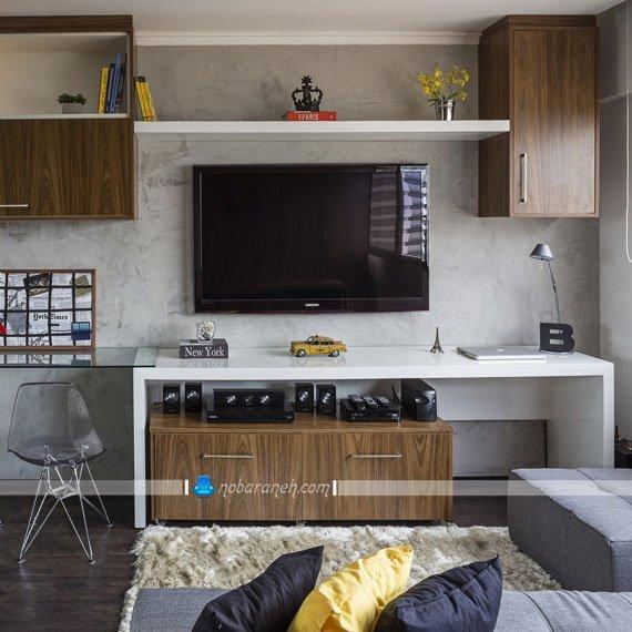 چیدمان و دکوراسیون داخلی خانه کوچک 30 متری