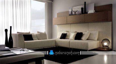 طرح جدید شلف و باکس تلویزیون دیواری
