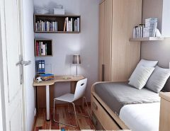طراحی دکوراسیون مردانه در خانه کوچک