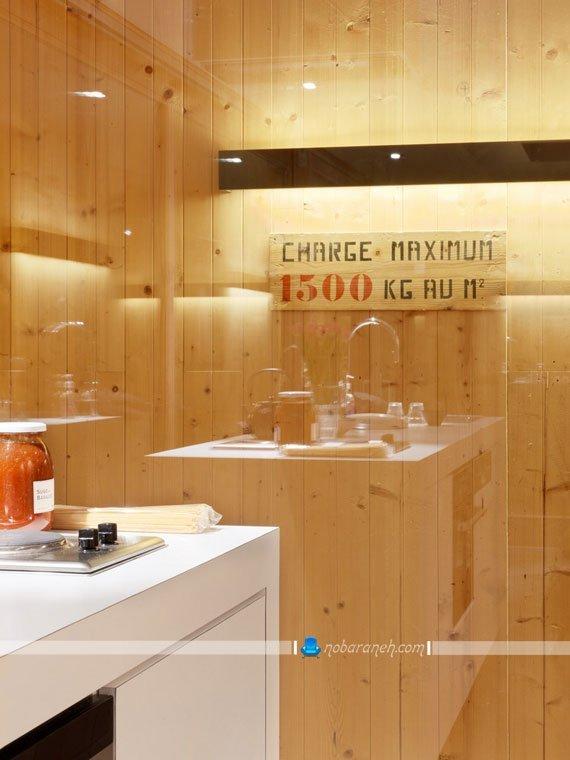 دیوارهای چوبی و شیشه ای در دکوراسیون داخلی