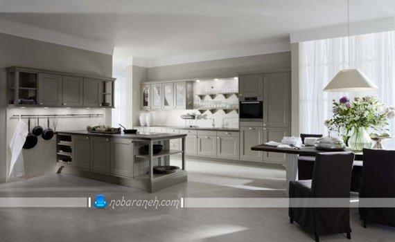مدل های جدید نورپردازی کابینت آشپزخانه