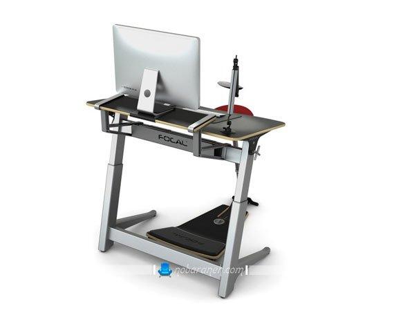 عکس مدل جدید میز تحریر و کامپیوتر حرفه ای با صندلی طبی و مدرن / عکس