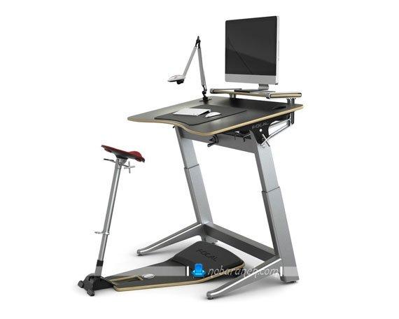 مدل میز تحریر و کامپیوتر مدرن با طراحی ظریف و زیبا / عکس