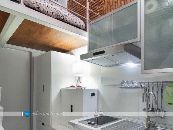 کابینت های با عمق زیاد مناسب فضاسازی در آشپزخانه / عکس