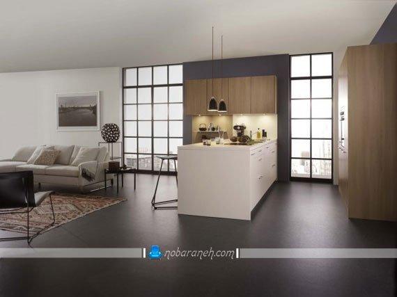نوپردازی و نور مخفی کابینت آشپزخانه مدرن