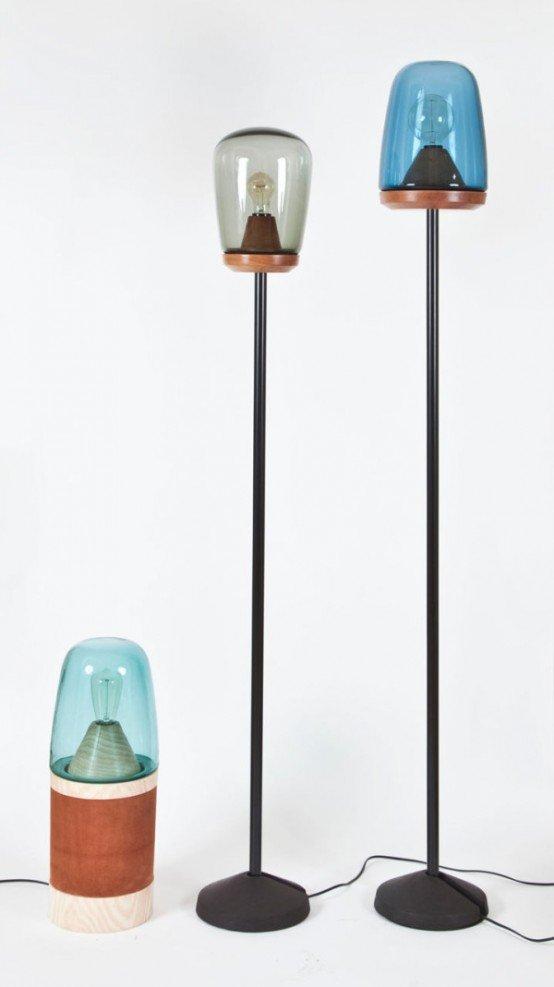 مدل آباژور ایستاده و پایه بلند / عکس
