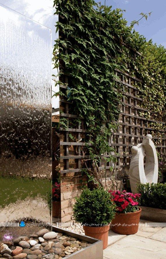 آب نما خانگی شیشه ای برای فضای باز حیاط