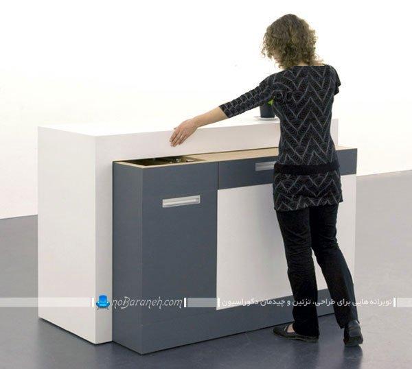 کابینت برای آشپزخانه های خیلی کوچک