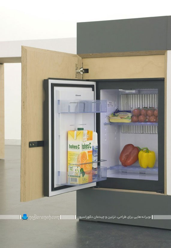 طراحی کابینت آشپزخانه کوچک