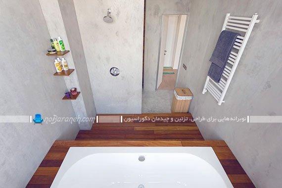نصب وان در حمام کوچک