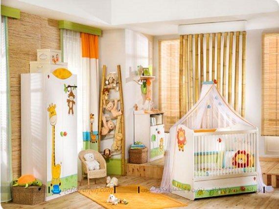 تزیین اتاق کودک با عروسک های زیبا