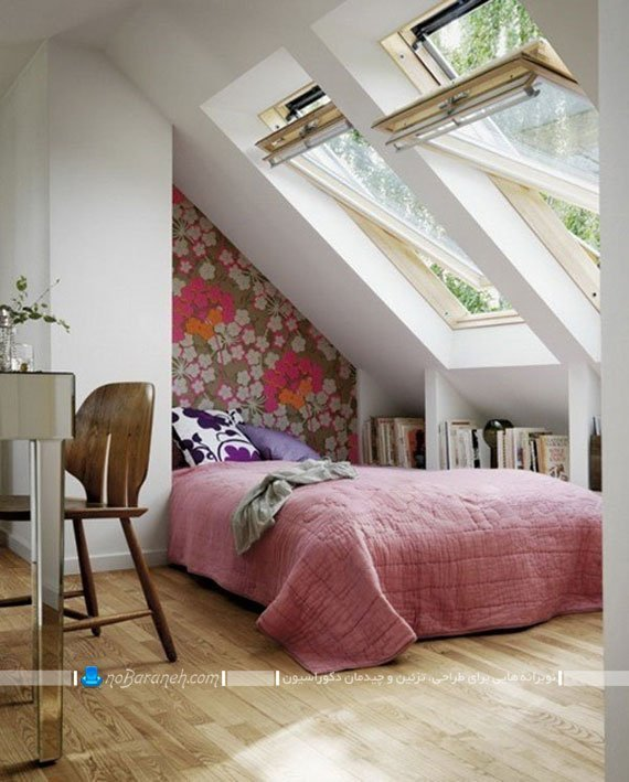 دکوراسیون ساده و ارزان اتاق خواب کوچک