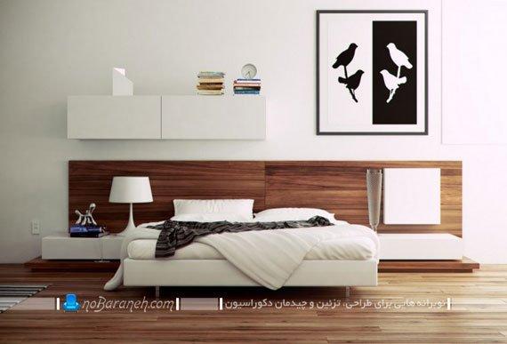 تزیین اتاق خواب عروس با چوب