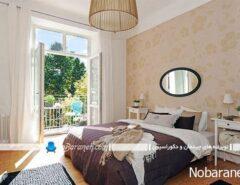 اتاق خواب مدرن با تنوع رنگی زیبا و جذاب