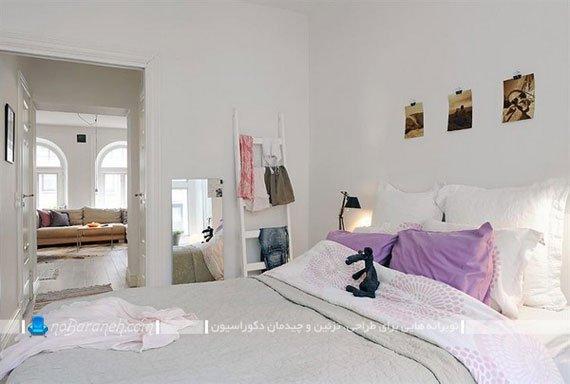 طراحی دکوراسیون اتاق خواب به ساده ترین شکل ممکن / عکس