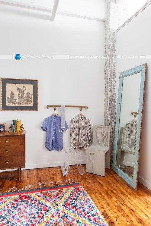 طراحی دکوراسیون کلاسیک اتاق خواب