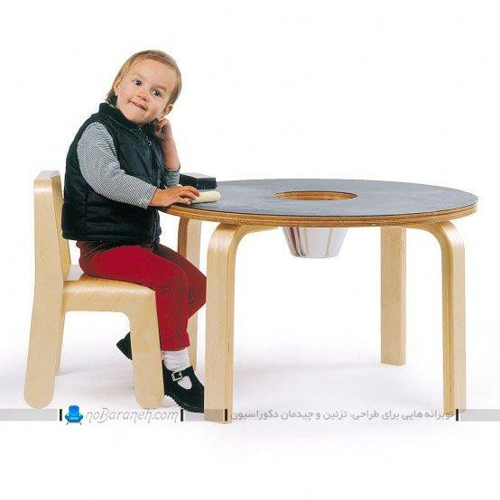 میز و صندلی کودک / عکس