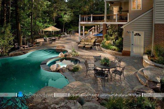 مدل های ساخت استخر در باغ / عکس