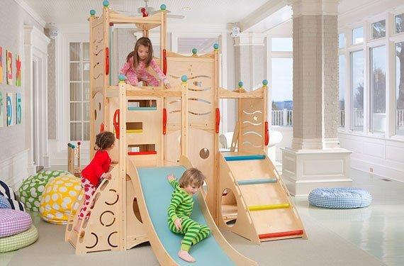 تخت سرسره دار برای اتاق بچه ها