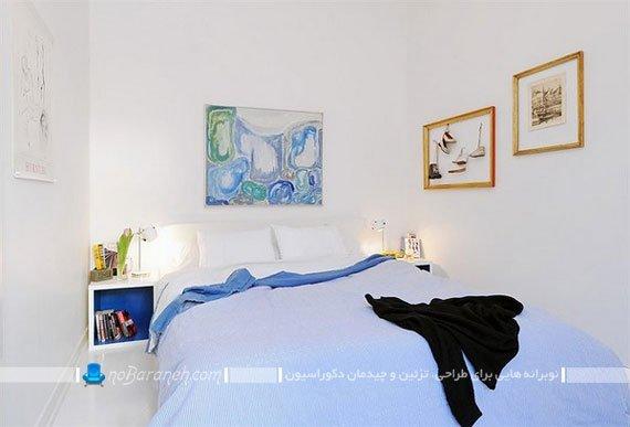 تزیین دیوار اتاق عروس با تابلو / عکس